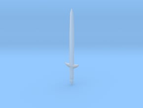 Knight Sword of Becames Robert in Smooth Fine Detail Plastic