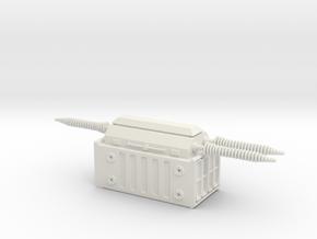 Electrical Transformer 1/120 in White Natural Versatile Plastic