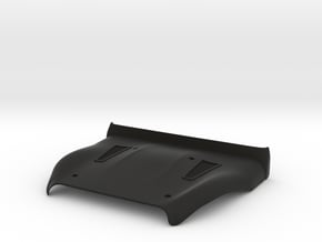 Vanquish Ripper Hood by SuperShafty in Black Natural Versatile Plastic