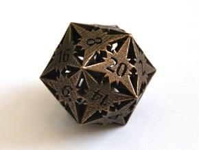 D20 Balanced - Starlight in Polished Bronze Steel
