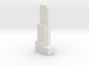 Rinku Gate Tower Building - Osaka (1:4000) in White Natural Versatile Plastic