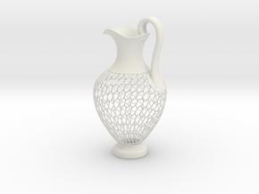 Oinochoe in White Natural Versatile Plastic