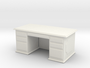 Office Wood Desk 1/64 in White Natural Versatile Plastic