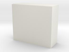 1/64 large storage bin in White Natural Versatile Plastic: 1:64 - S
