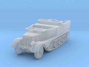 Sdkfz 11 (open) (window down) 1/144 in Smooth Fine Detail Plastic