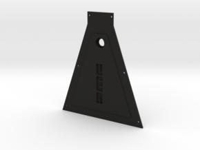1:8 Eaglemoss Bottom Plate Delorean Eaglemoss in Black Natural Versatile Plastic