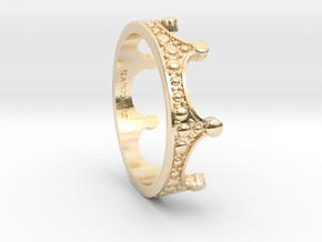 Crown - Ring in 14K Yellow Gold: 6 / 51.5