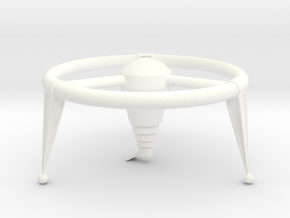 Lost in Space The Keeper Space Ship in White Processed Versatile Plastic
