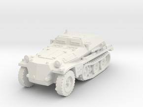 Sdkfz 252 1/120 in White Natural Versatile Plastic