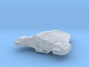 Elite Dangerous Viper Mk3 starship in Smooth Fine Detail Plastic