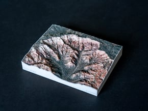 Bryce Canyon, Utah, USA, 1:25000 in Natural Full Color Sandstone