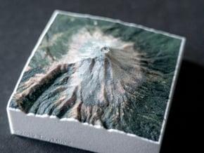 Popocatépetl, Mexico, 1:150000, Explorer in Natural Full Color Sandstone