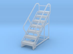 Warehouse Ladder 1/87 in Smooth Fine Detail Plastic