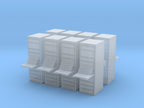 Computer Server (x8) 1/160 in Smooth Fine Detail Plastic