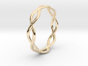 Braid Ring in 14K Yellow Gold: 5 / 49