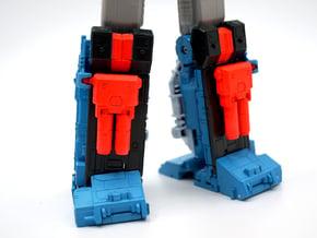 TR Fort Max Shin Blasters in White Processed Versatile Plastic