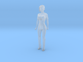 Printle C Femme 1974 - 1/48 - wob in Smooth Fine Detail Plastic