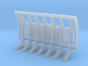 1:64 Root rake for Volvo L60H in Smooth Fine Detail Plastic
