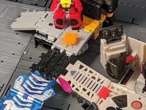 TF Titans Return to Earthrise Straight Ramp Set in White Natural Versatile Plastic