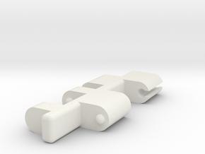 Titans Earthrise Platform Adaptor (T.E.P.A.)  in White Natural Versatile Plastic