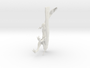 Dilophosaurus 1:15 scale  in White Natural Versatile Plastic: 1:50