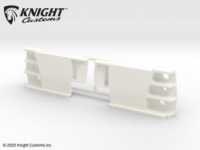 KCLD008 Delta rear light buckets in White Processed Versatile Plastic