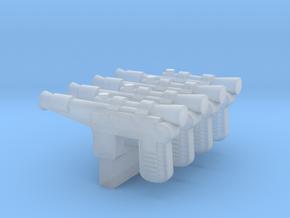 """PRHI Smuggler Blaster for 1"""" figures in Smoothest Fine Detail Plastic"""