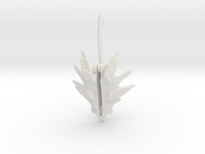 Triassic Shield Bladed - LGCY in White Natural Versatile Plastic