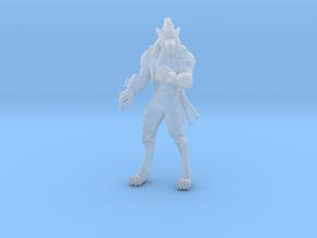 Werewolf Modern Samurai Survivor miniature games in Smooth Fine Detail Plastic