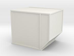 AKE Air Container (closed) 1/43 in White Natural Versatile Plastic