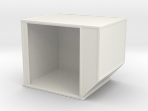 AKE Air Container (open) 1/72 in White Natural Versatile Plastic