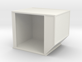 AKE Air Container (open) 1/56 in White Natural Versatile Plastic