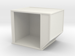 AKE Air Container (open) 1/35 in White Natural Versatile Plastic