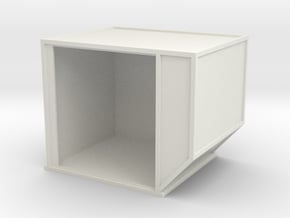 AKE Air Container (open) 1/12 in White Natural Versatile Plastic