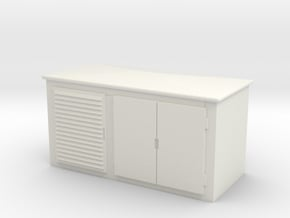 Electrical Cabinet 1/64 in White Natural Versatile Plastic