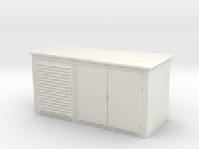Electrical Cabinet 1/56 in White Natural Versatile Plastic