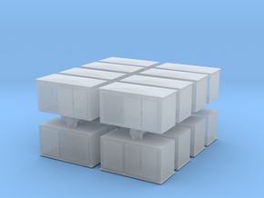 Electrical Cabinet (x16) 1/285 in Smooth Fine Detail Plastic
