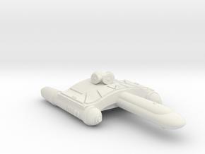 3788 Scale Romulan SkyHawk-F Scout (SKF) WEM in White Natural Versatile Plastic