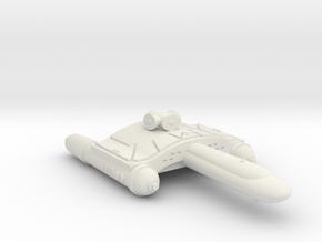 3125 Scale Romulan SkyHawk-F Scout (SKF) WEM in White Natural Versatile Plastic