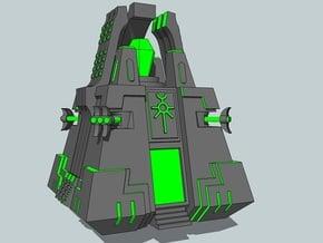 6mm DeathBot War-Pyramids (4pcs) in Gray PA12