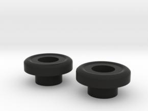 1:8 Eaglemoss Delorean Black Joints in Black Natural Versatile Plastic