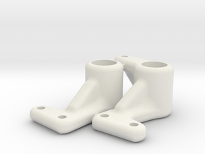 H3 H4 Dyna Blaster / Storm / TR-15T steering arms in White Natural Versatile Plastic