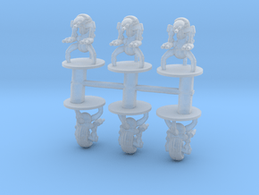 Star Wars Droidekas 6mm Infantry Epic miniature mi in Smooth Fine Detail Plastic