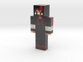 FabioFigPT | Minecraft toy in Glossy Full Color Sandstone