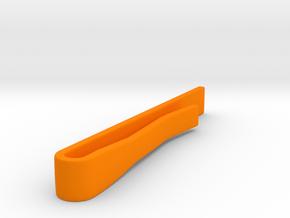 Classic Tie Bar (Plastics) in Orange Processed Versatile Plastic