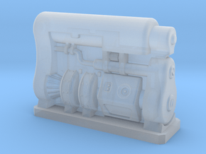 6mm Scale Fusion Generator Fallout 4 in Smooth Fine Detail Plastic