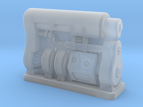 28mm Scale Fusion Generator Fallout 4 in Smooth Fine Detail Plastic