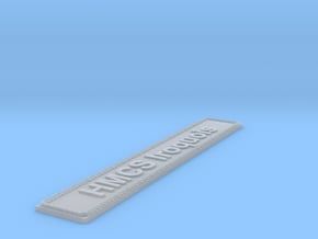 Nameplate HMCS Iroquois in Smoothest Fine Detail Plastic