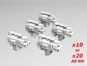 Deathvigil Thunder Bolters x10 or 20 All RH in Smooth Fine Detail Plastic: Medium