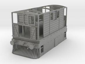 4mm Y6 0-4-0 Tram Body in Gray PA12